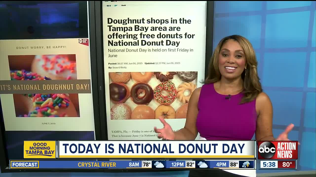 Krispy Kreme Is Giving Out Free Doughnuts Today