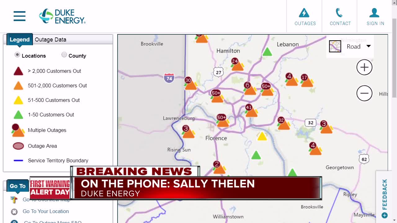 Ice storm causes thousands to lose power in Tri-State on