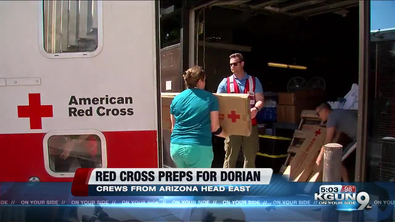 American Red Cross volunteers deploy in support of Hurricane Dorian relief