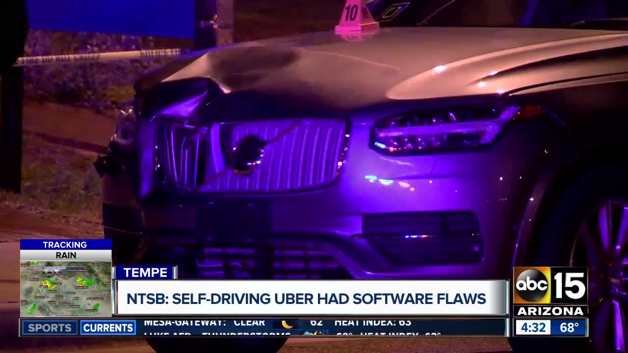 Software behind self-driving car's crash didn't recognise jaywalkers