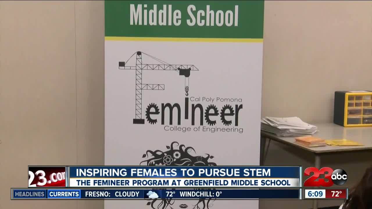 Femineer Program allows 6th graders to be creative with STEM