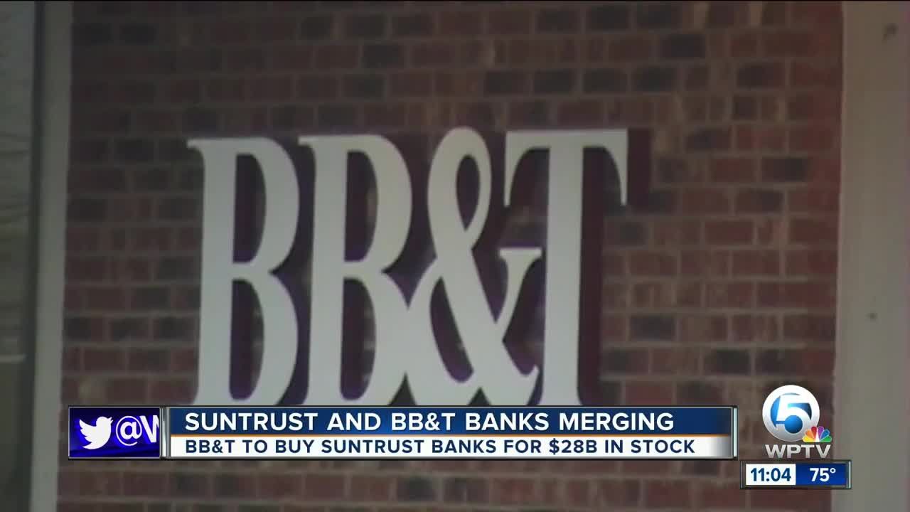 BB&T and SunTrust announce merger, creating nation's sixth-largest bank