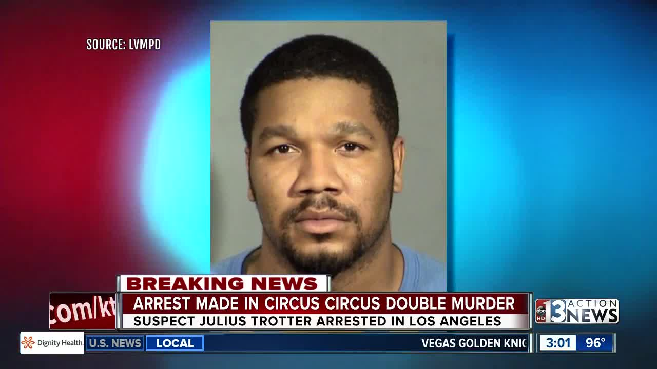 UPDATE: Man arrested in Circus Circus deaths suspect in