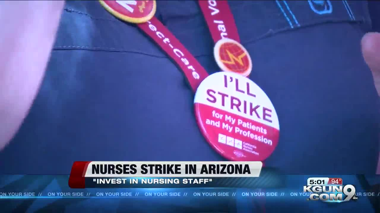 Nurses staging 1-day strike at 12 hospitals in 3 states - 47abc