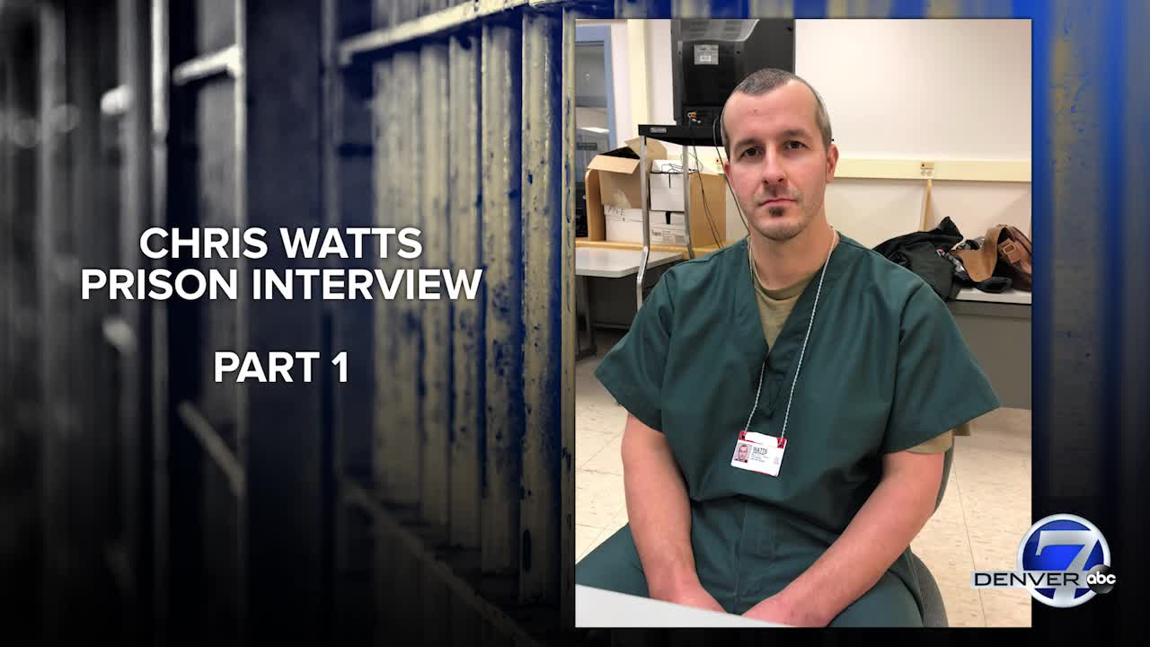 In prison interview, Chris Watts tells FBI, police about