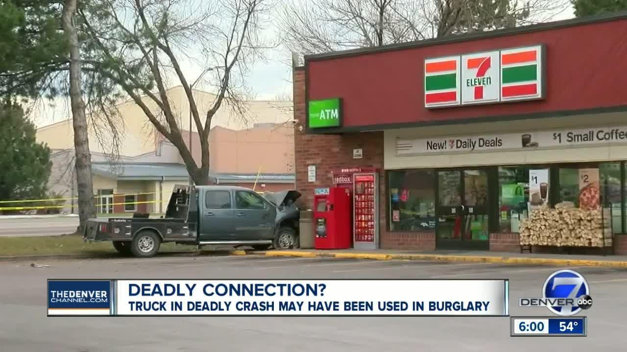Two dead in Fort Collins crash involving suspicious vehicle