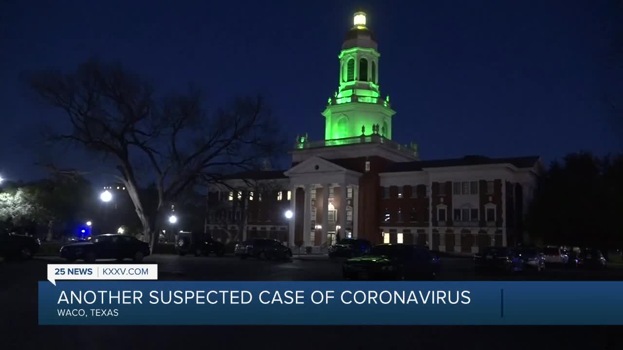 2nd suspected case of coronavirus reported in Central Texas
