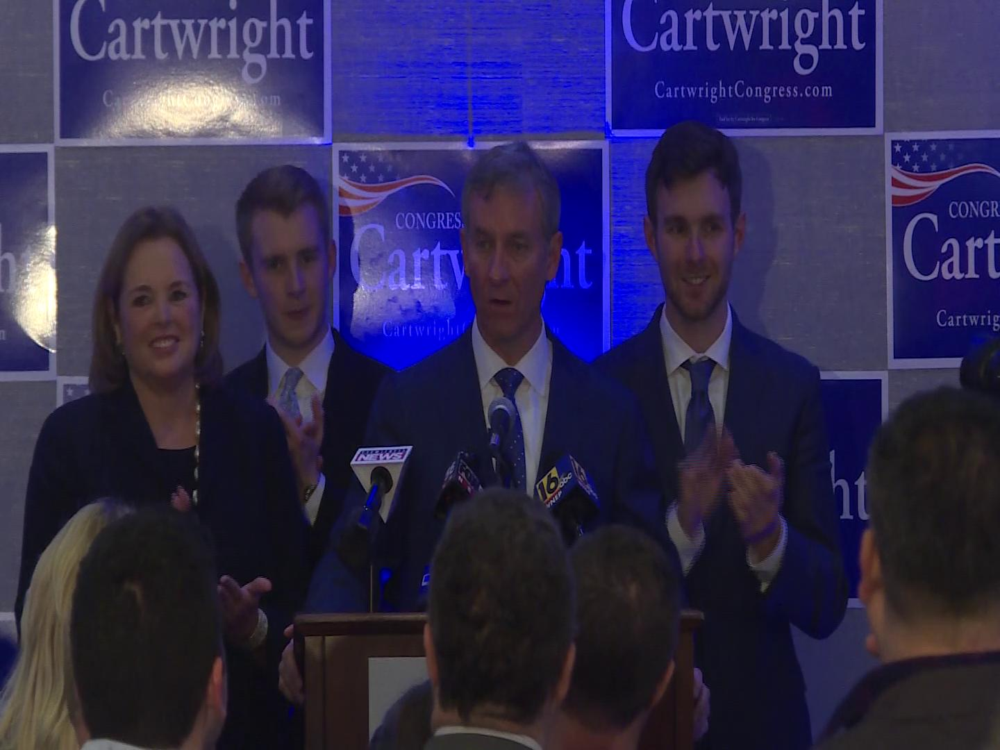 WATCH: Congressman Matt Cartwright's victory speech