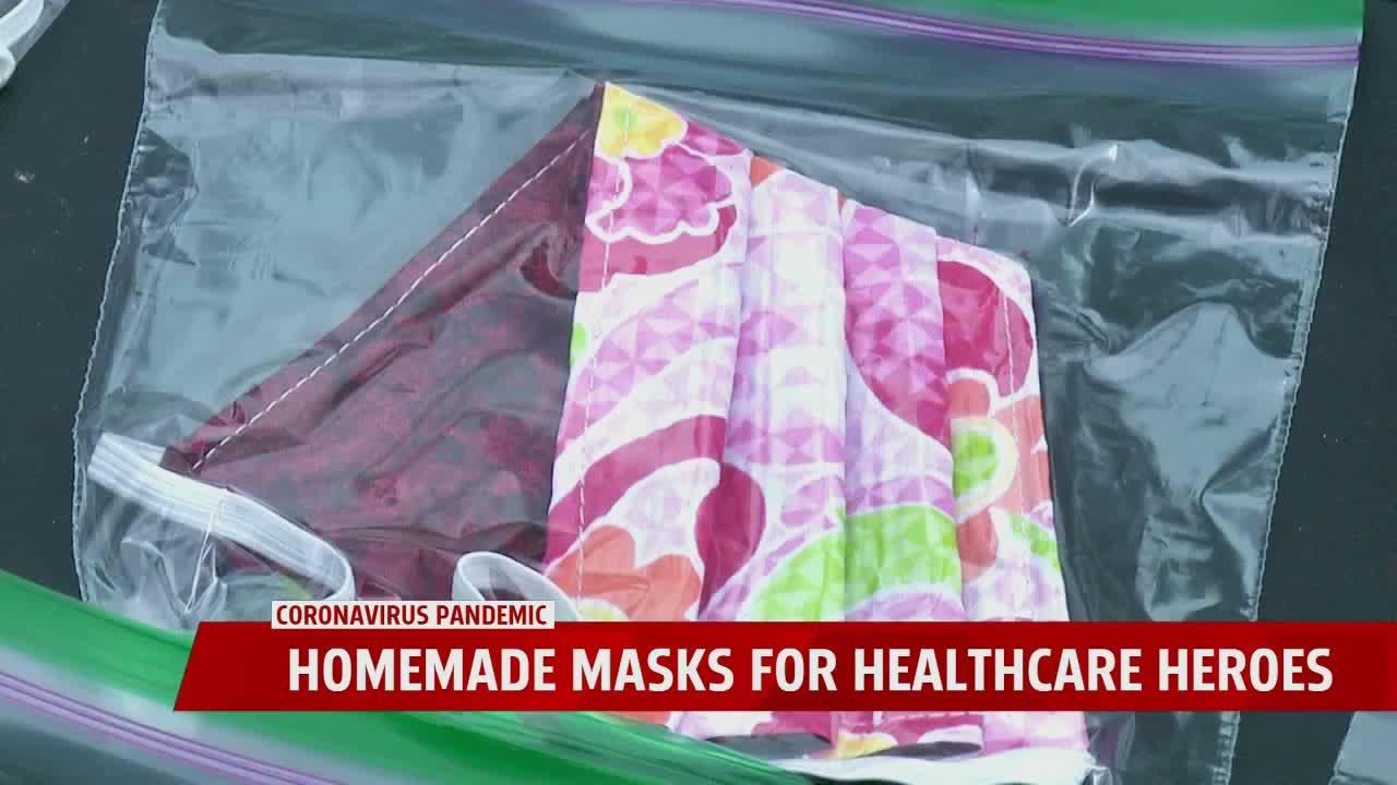 Making Masks For Healthcare Heroes