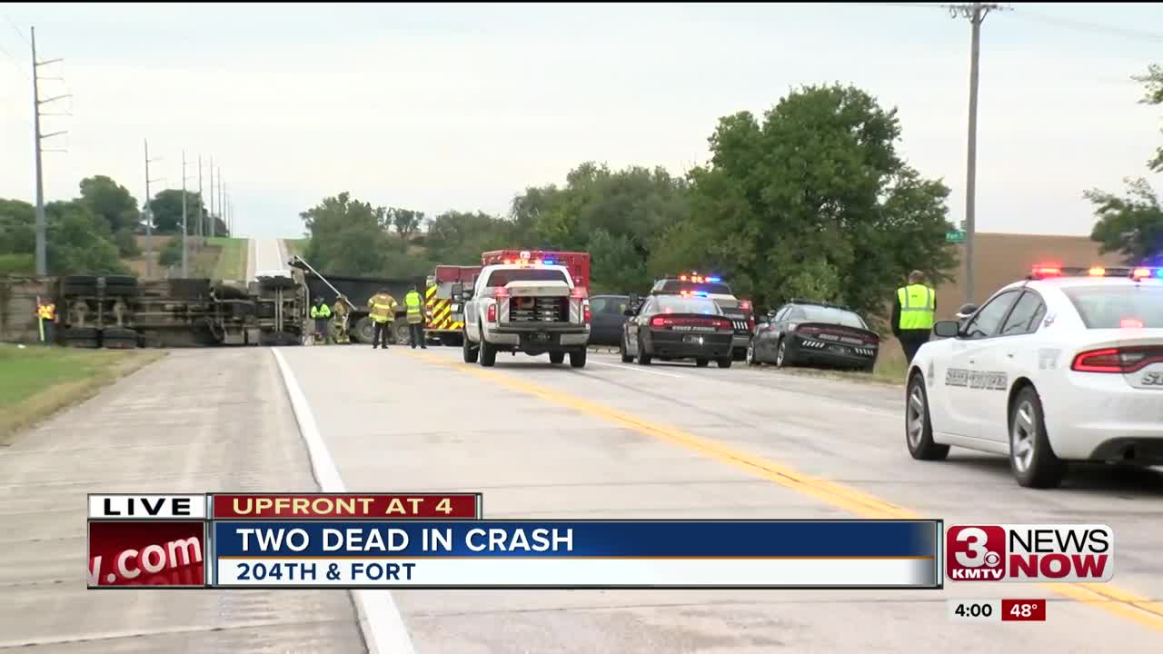 2 Waste Management employees killed in crash involving dump truck