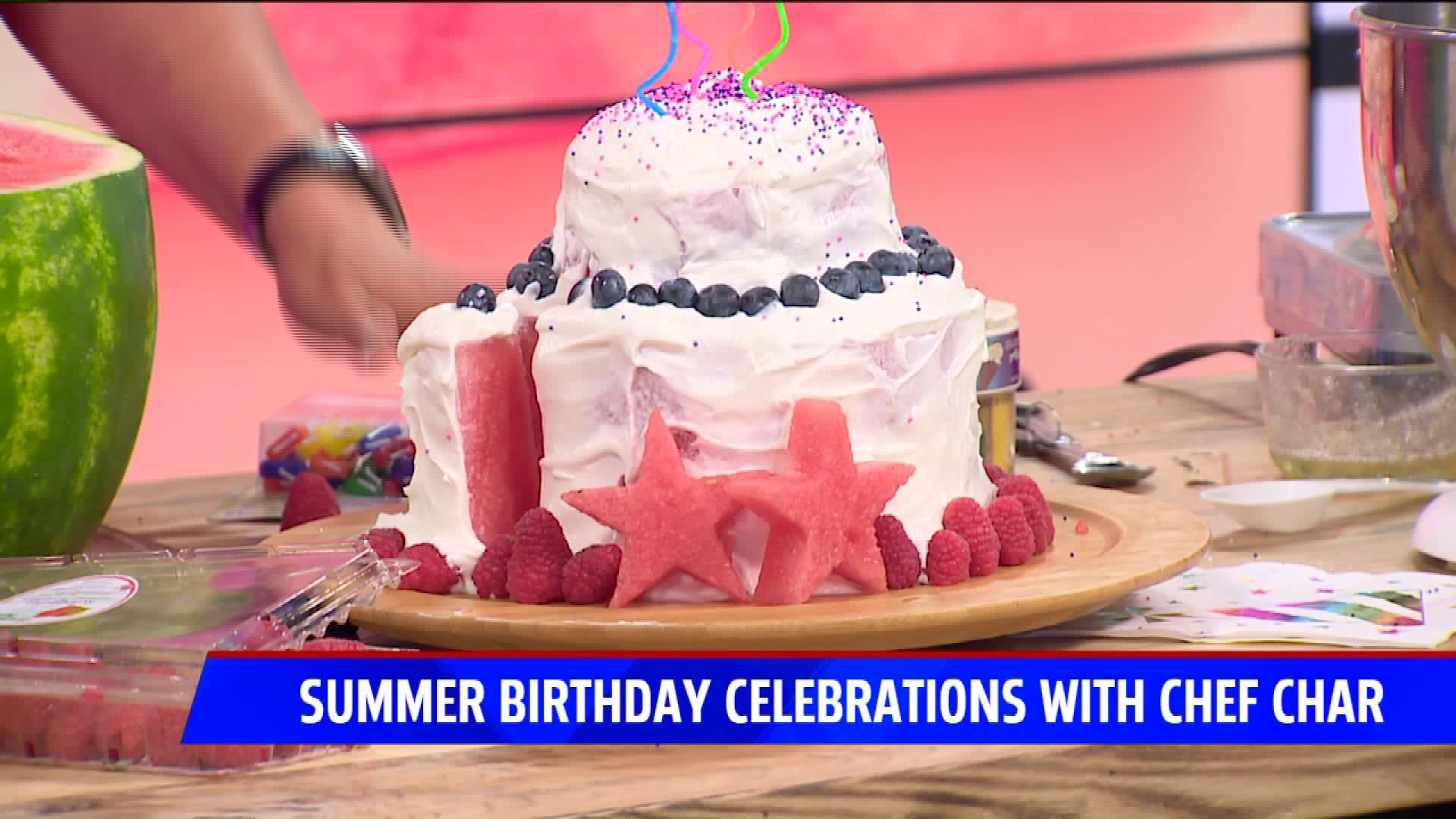 Fine Summer Birthday Celebrations With Chef Char Personalised Birthday Cards Cominlily Jamesorg