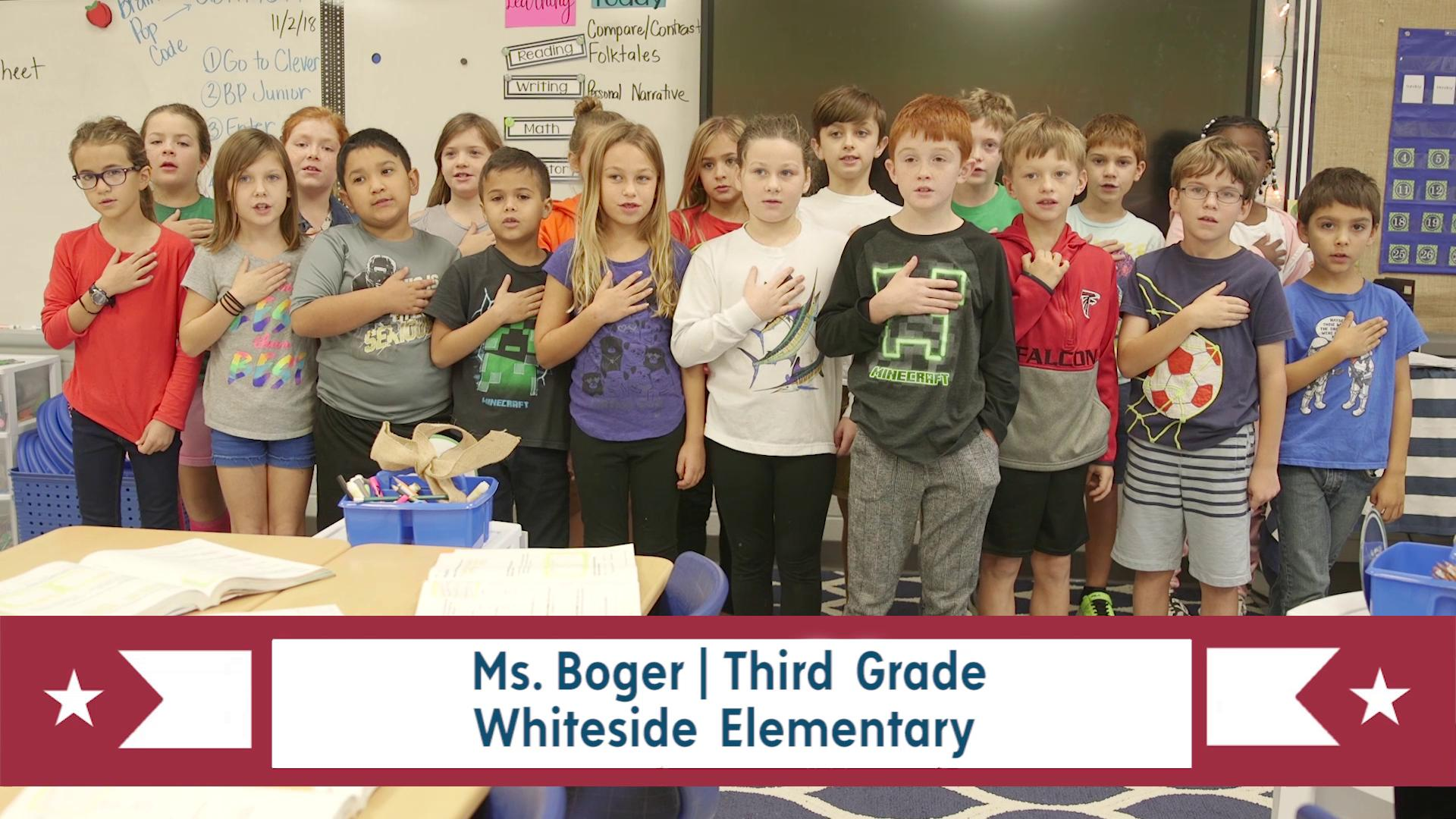 PLEDGE OF ALLEGIANCE for May 20, 2019