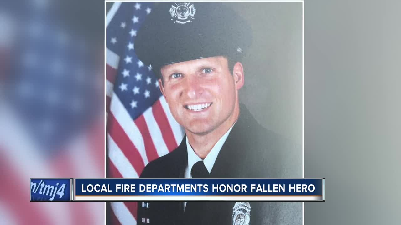 Firefighter killed in shooting