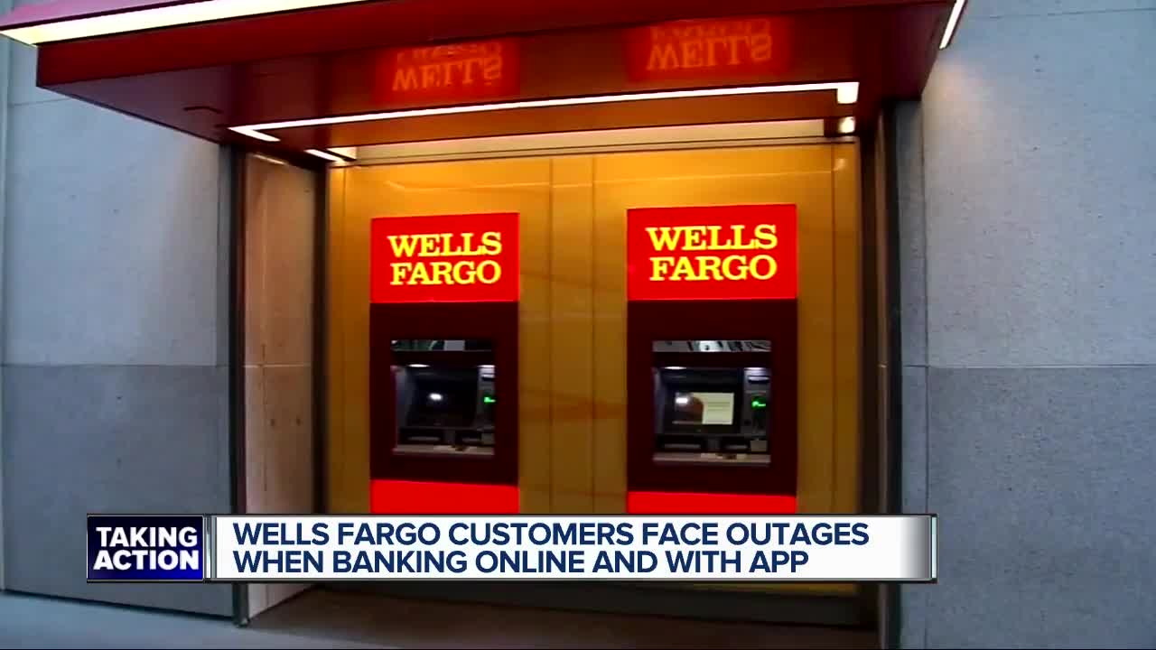 Online, mobile banking down for Wells Fargo customers due to
