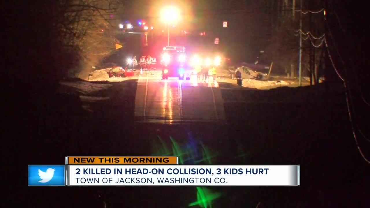 2 dead, 3 injured in Washington County crash