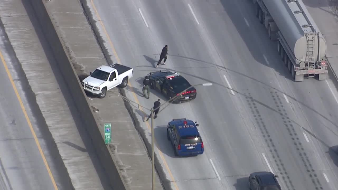 VIDEO: Dramatic police chase ends in arrest in Hazel Park