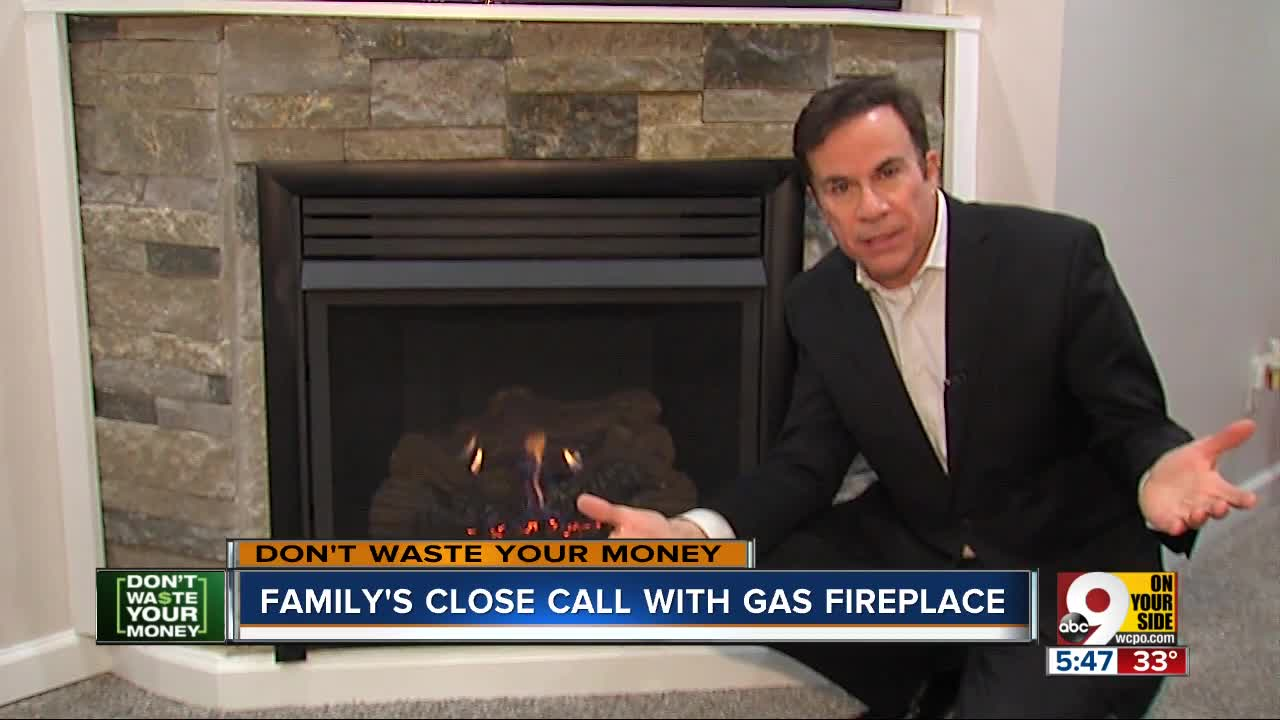 Kentucky Family Gets Scare From Ventless Gas Fireplace