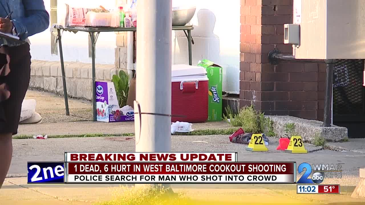 One Dead Six Hurt In Cookout Shooting Near Church In Baltimore