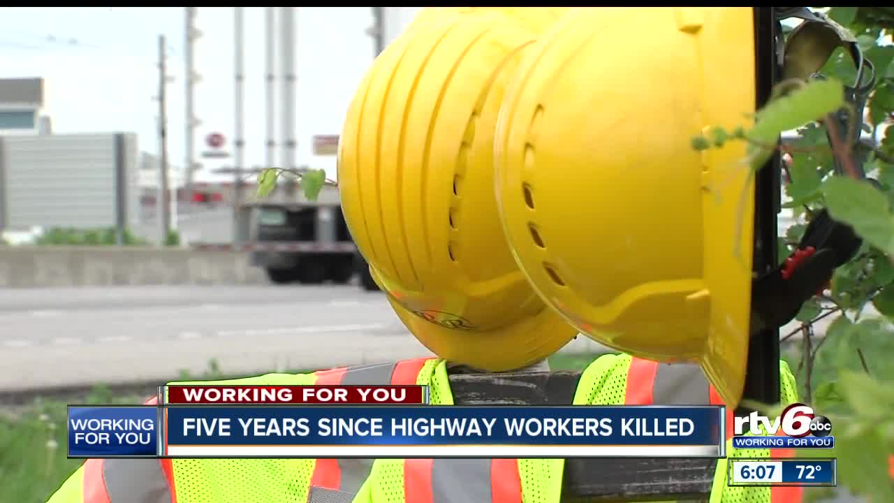 Five Years Since Highway Workers Killed, Police Stress
