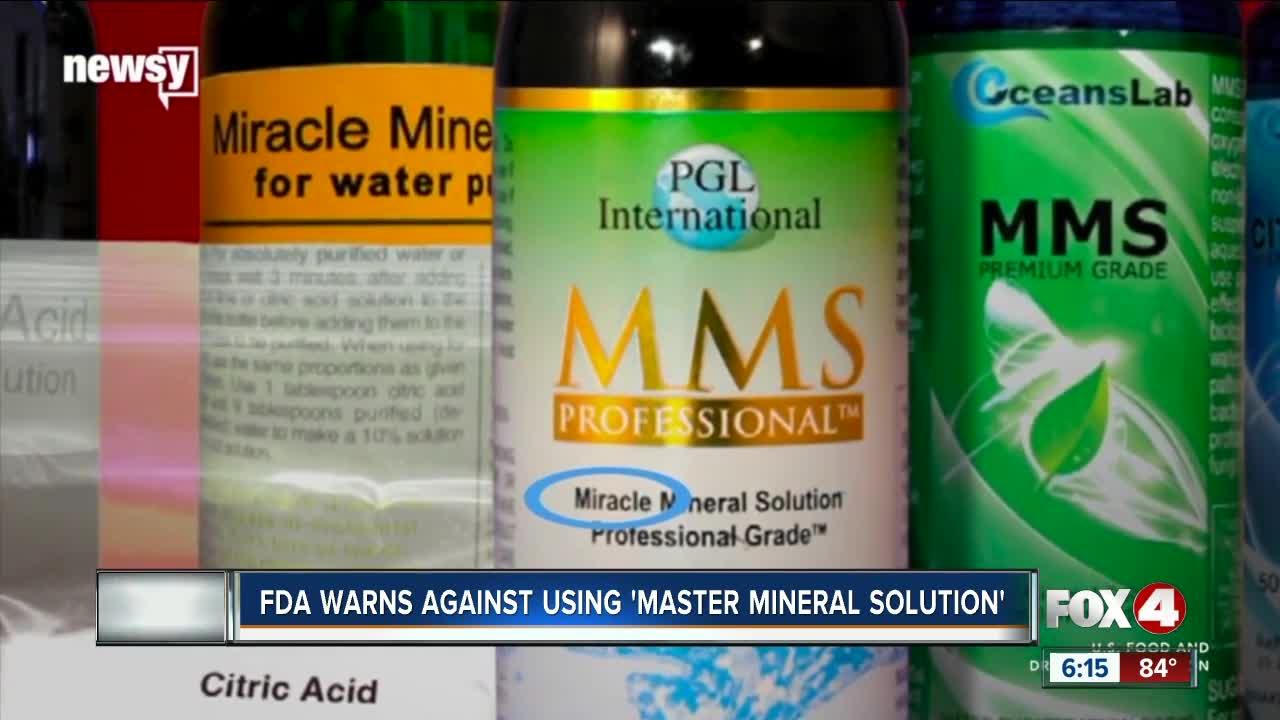 FDA warns