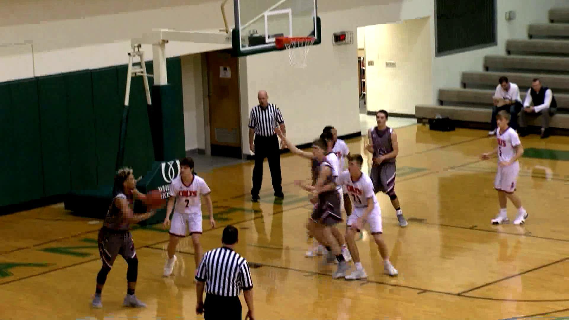 12.22.18 Highlights: Wheeling Central vs. Meadowbrook - boys basketball