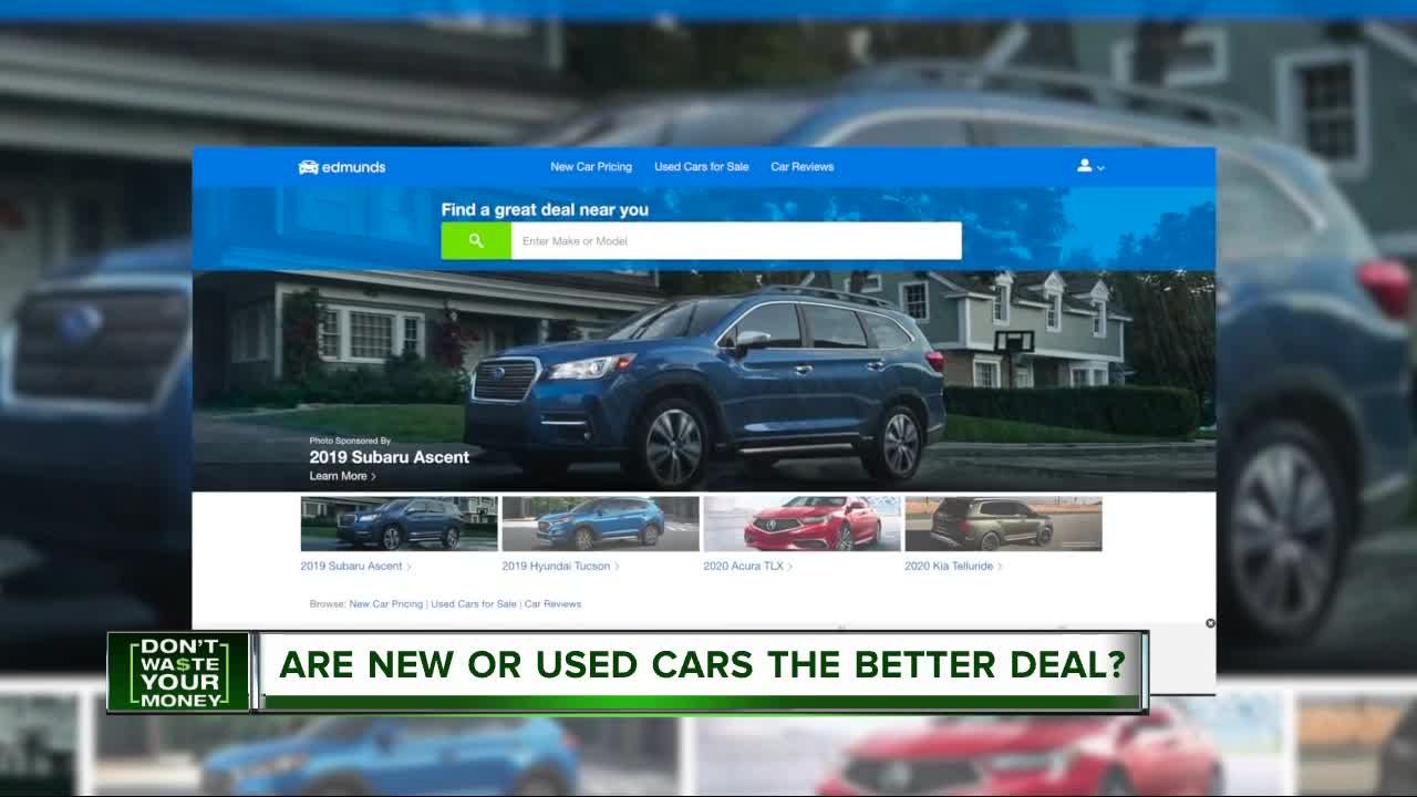 Should You Buy A New Car Used Car Or Lease In Michigan